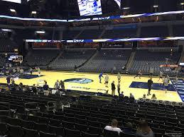 Fedex Forum Section 106 Memphis Grizzlies Rateyourseats Com