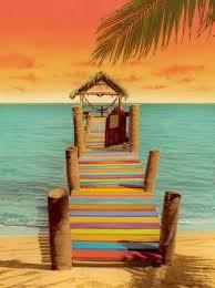 summer beach tumblr. Striped Pier - Found On Tumblr By \u0027ellenzee.\u0027 Original Source Unknown. Summer Beach S