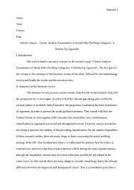 popular curriculum vitae proofreading sites au charles manson critique essay examples each essay i critique gets a critique essay examples each essay i critique
