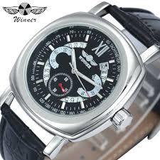 <b>WINNER Men's Watches</b> Luxury Automatic Mechanical <b>Business</b> ...