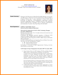 12 resume career summary examples resume career overview example