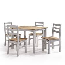 dining set wood. robin solid wood 5 piece dining set