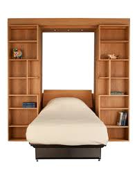 Natural Cherry Bedroom Furniture Library Wall Bed Hardwood Artisans Handcrafted Bedroom Furniture