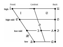 Vowel Chart Ipa English Image Result For Vowel Quadrilateral Phonetic Chart