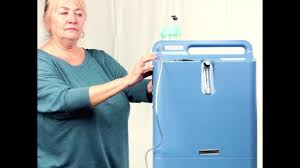 Everflo Oxygen Concentrator Yellow Light Oxygen Concentrator By Global Medical Products Videos
