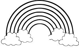 Coloriage Arc En Ciel Dessin Imprimer Sur Coloriages Info Tout Desin Dessin De Arc En CiellL