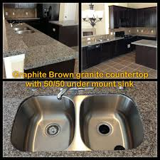 Kitchen Sinks With Granite Countertops Under Mount Sinks Are The Way To Go Much More Expensive But