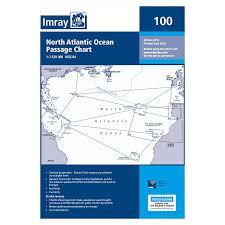 Imray Chart 100 Imray Charts For The N Atlantic Ocean E Series