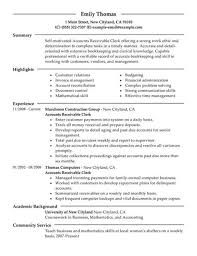 Lovely Decoration Accounts Payable Job Description Resume Accounts