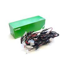 genuine lucas wiring harness triumph t100 rex s speed shop genuine lucas wiring harness