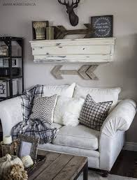 shabby chic hunting lodge wall mount and rustic art