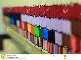 Row Of Medical Charts Stock Photo. Image Of Patients, Data - 4204642