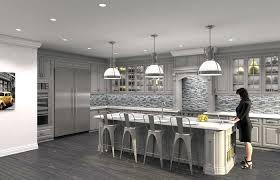 kitchen with gray mosaic backsplash gray mosaic contemporary kitchen with white