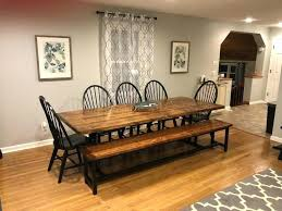 wood farm dining table solid wood rustic farmhouse dining table