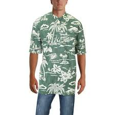 Reyn Spooner Size Chart Reyn Spooner Mens My Private Isle Green Button Down Shirt