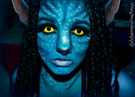 avatar na vi neytiri makeup for on we heart it