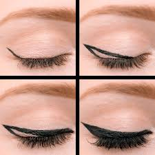 4 steps to the purrrfect bold cat eye makeup