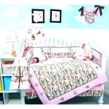 Camping Themed Bedding Baby Nursery Outdoor Hunting Crib Sets Set On Wall