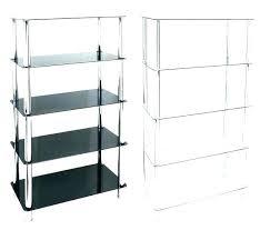 glass shelving unit corner unit glass shelf unit shelving black corner units white gloss shelves house glass shelving unit ikea