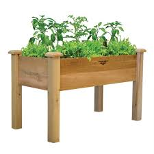 easy raised garden beds on legs