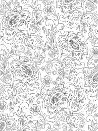 William Morris Colouring Pages 15 Pictura