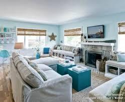 small coastal living room decor ideas