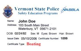 Ed® amp; Safety Vermont Boat Boating Course License