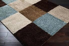 hampton bay rugs blue and tan area rugs bay border 5 ft x 7 indoor outdoor