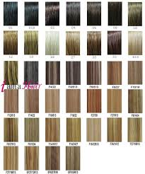 Clip In Hair Extensions Color Chart Best Picture Of Chart