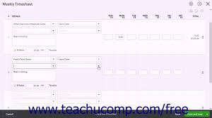 Time Sheet Online Quickbooks Online Plus 2017 Tutorial Weekly Timesheets Intuit Training
