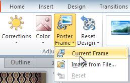 Create A Poster In Powerpoint Powerpoint 2010 Inserting Videos