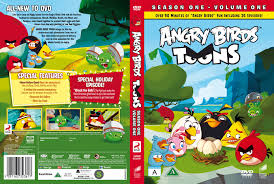 COVERS.BOX.SK ::: Angry Birds Toons - Volume 1 (Nordic) - high quality DVD  / Blueray / Movie