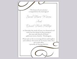 Wedding Invitation Templates Downloads Printable Wedding Invite Templates Shukyakumaster