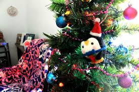 Magpie Making Do My Candy Colored Office Christmas Decorations