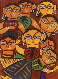 jamini roy paintings a west indian artist