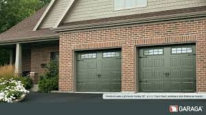 brown garage doors with windows. Dark Brown Garage Door Doors Model North 9 X 7 . With Windows