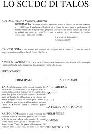Lo Scudo Di Talos di Valerio Massimo Manfredi – Docu.Plus