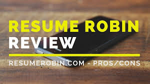 Resume Robin Review Is Their Resume Distribution Service Worth
