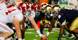 2012 Notre Dame Football Depth Chart Alabama Notre Dame Announce Future Home And Home Series