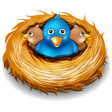 bird nest clipart.  Bird Tweet Bird Nest Clipart 1 And H