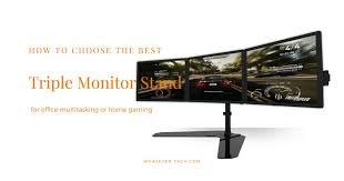 top 5 best triple monitor stands