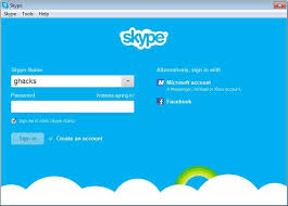 Create Skype Account Skype Beta Now With Facebook Login And Microsoft Account