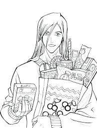 Bleach Coloring Pages Bleach Printable Coloring Pages Manga Color