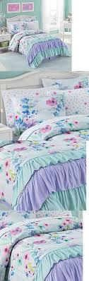 the  best ruffled comforter ideas on pinterest  ruffle bedding