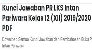 We did not find results for: Kunci Jawaban Lks Intan Pariwara Kelas 12 2019 2020 Nyempene Santuy Youtube