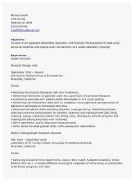 68 Amazing Photos Of Sample Physical Therapy Resume Best