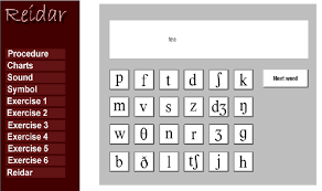 A Virtual Keyboard Relating Sound And Symbol Of The English