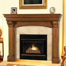 Mantels 195 Blue Ridge Wooden Fireplace Mantel