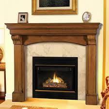 Mantels 195 Blue Ridge Wooden Fireplace Mantel