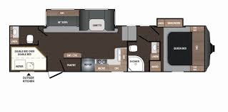 fifth wheel toy hauler floor plans for vole rv floorplans and